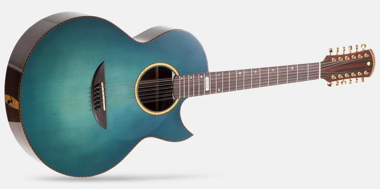 versoul kenny burrell jazz model 12 string acoustic guitar